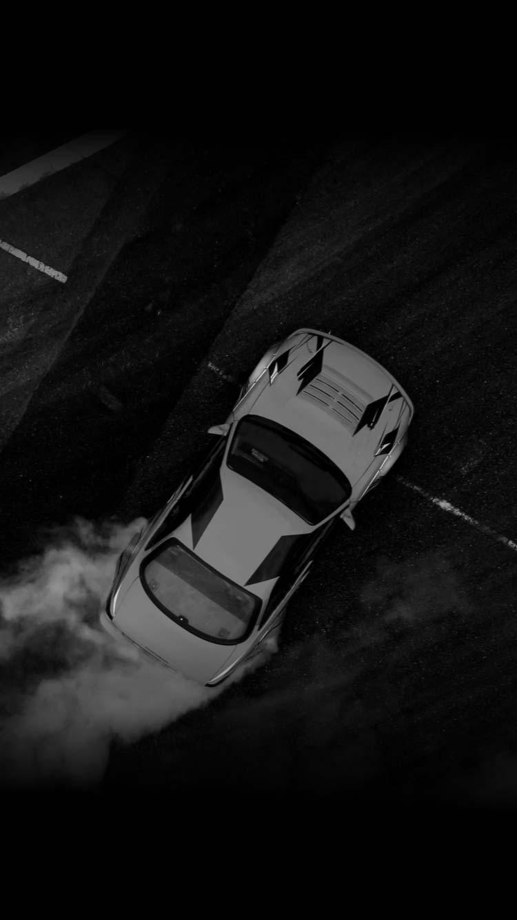 A new car test drive.